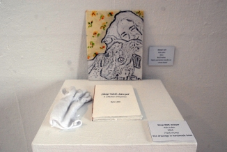 Kyla Lakin - BFA - Pedistal with Book